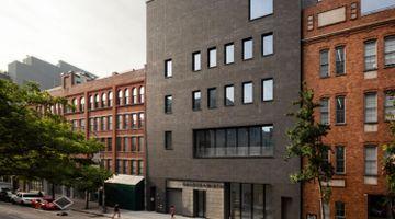 Hauser & Wirth contemporary art gallery in 22nd Street, New York, USA