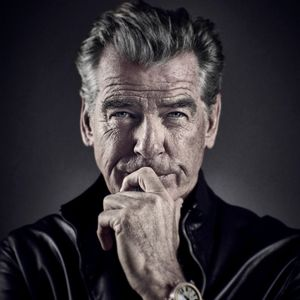 Pierce Brosnan by Andy Gotts contemporary artwork photography, print