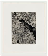 Mer de Canada by Robert Smithson contemporary artwork works on paper