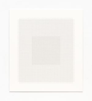 Thread Drawing 2012-21 by Hadi Tabatabai contemporary artwork