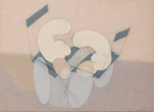 Boris lügt [Boris is Lying] by Renate Bertlmann contemporary artwork