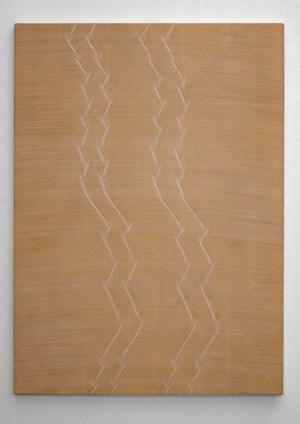 Long Ending (Ochre) by David Murphy contemporary artwork