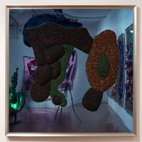 goyisher head by Dale Frank contemporary artwork mixed media