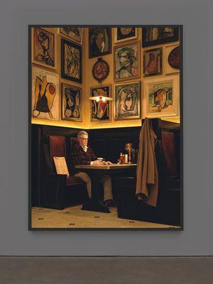 Artist in Artists' Bar, 1950's by Rodney Graham contemporary artwork