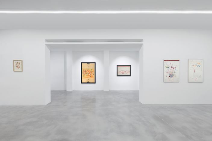 Exhibition view: Alighiero  Boetti, Alighiero Boetti. The Fantastic World, Dep Art Gallery, Milan (28 February–26 May 2018). Courtesy Dep Art Gallery.