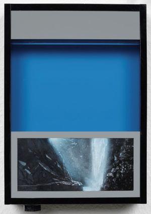Pocket vacation box - Pbtbalo Blue by Naoya Inose contemporary artwork