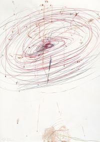El Calvario 2 by Rebecca Horn contemporary artwork works on paper, drawing