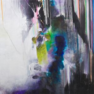 Witness by Justin Mortimer contemporary artwork