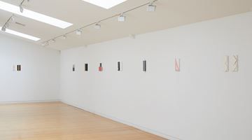 Contemporary art exhibition, John Nixon, Small Black + White at Two Rooms, Auckland