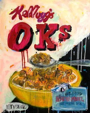 Big Cereal no.3 by Kinjo Toshiki contemporary artwork