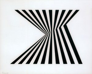 Untitled [Fragment 1] by Bridget Riley contemporary artwork