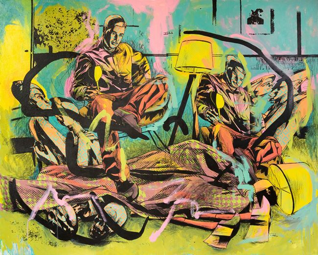 Sweep Dirt Under the Rug by Lawrence Canto contemporary artwork