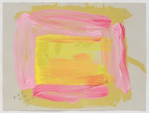 A Pale Reflection by Howard Hodgkin contemporary artwork