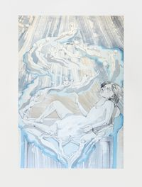 Sophie by Matthew Lutz-Kinoy contemporary artwork painting, drawing