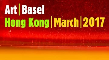 Contemporary art exhibition, Art Basel Hong Kong 2017 at Timothy Taylor, London