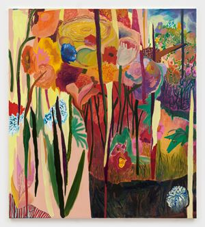 Ungroomed Garden by Shara Hughes contemporary artwork