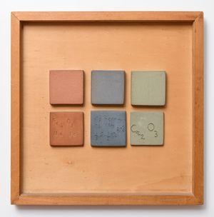 Swatch Table n. 12 by Nedda Guidi contemporary artwork