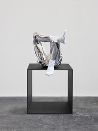 Dirty Socks (Stainless Steel) by Elmgreen & Dragset contemporary artwork sculpture