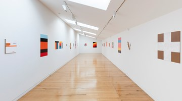 Contemporary art exhibition, John Nixon, EPW: Selected Paintings at Two Rooms, Auckland