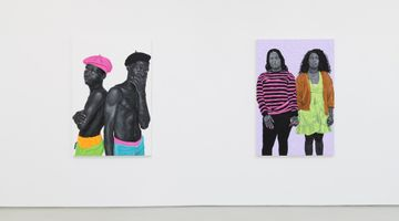 Contemporary art exhibition, Otis Kwame Kye Quaicoe, ONE BUT TWO (Haadzii) at Roberts Projects, Los Angeles