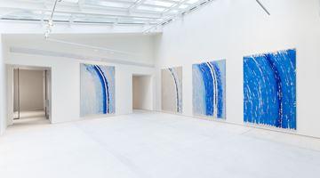 Contemporary art exhibition, Günther Uecker, Lichtbogen at Lévy Gorvy, Paris