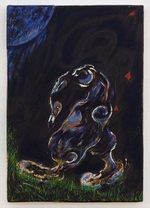 Night Fool by Elif Saydam contemporary artwork
