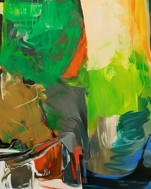 Walk 20100-#012 by Park Kyung-A contemporary artwork painting