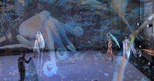 Danse au fond de la mer by Cecilia Bengolea contemporary artwork moving image