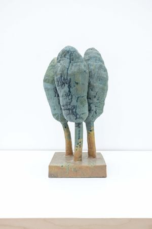 Three Trees by Peter Schlesinger contemporary artwork sculpture