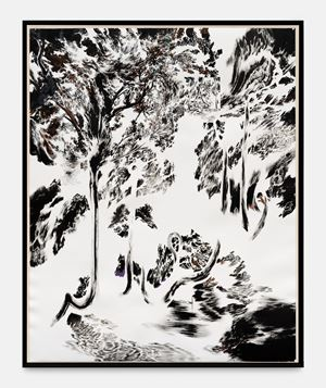 Trees of Miracle - Et les magiciens.. by Abdelkader Benchamma contemporary artwork