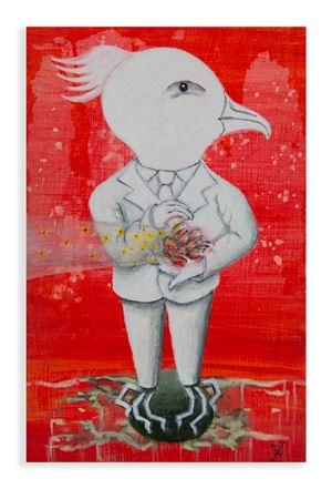 My Birds (A) by Harry Watson contemporary artwork