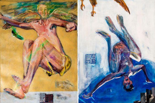 Up and Down by Fu-sheng Ku contemporary artwork