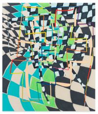 Structures Gonfables by Trudy Benson contemporary artwork painting