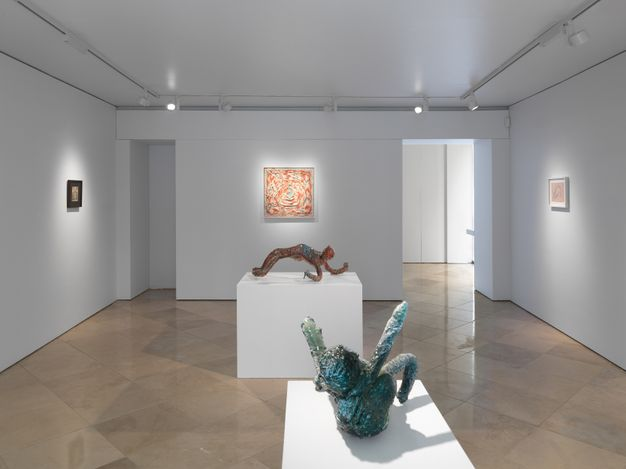 Exhibition view:Christian Holstad, Time wounds all heels, Victoria Miro, Venice, Italy (10 April–8 May 2021). © Christian Holstad. Courtesy the artist and Victoria Miro.