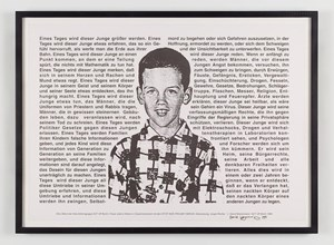 Untitled (One Day This Kid) by David Wojnarowicz contemporary artwork