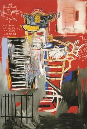 Le Hara by Jean-Michel Basquiat contemporary artwork