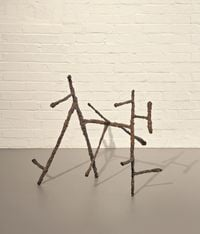 Horse by William Turnbull contemporary artwork sculpture