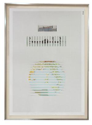 Discrete Model 005 by Goshka Macuga contemporary artwork