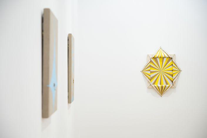 Exhibition view: Donald Moffett, Nature Cult, Whitestone Gallery, Hong Kong (18 May–26 June 2021). Courtesy Whitestone Gallery.