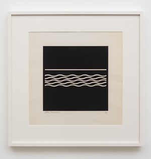 In the form of square by Jiro Takamatsu contemporary artwork