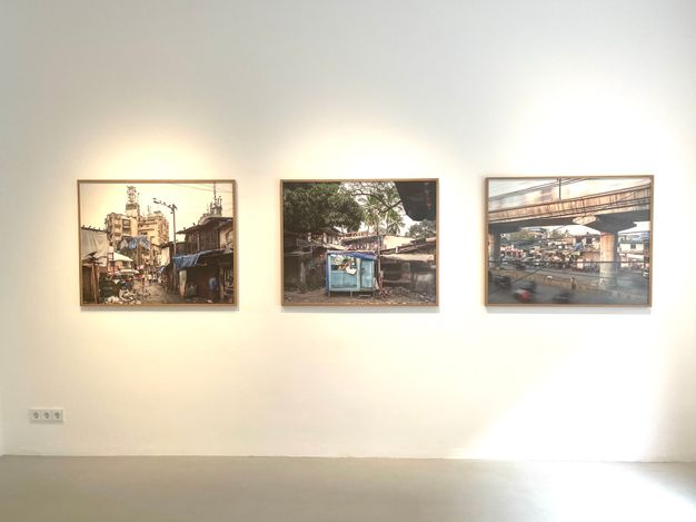 Exhibition view: Peter Bialobrzeski, No Buddha in Suburbia, Galerie—Peter—Sillem, Frankfurt (29 May–10 July 2021). Courtesy Galerie—Peter—Sillem.