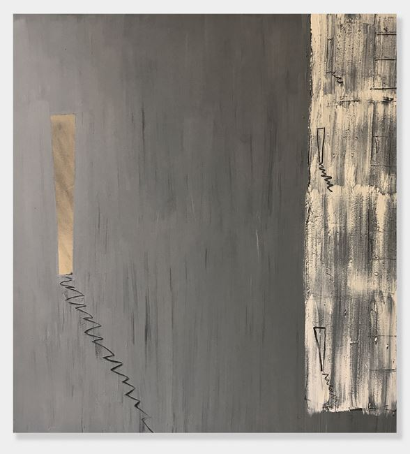Now and Again by Basil Beattie contemporary artwork