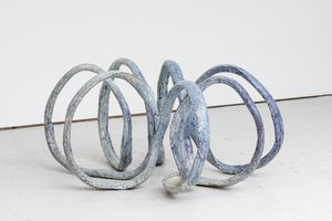 Untitled (Spiral) by David Zink Yi contemporary artwork sculpture