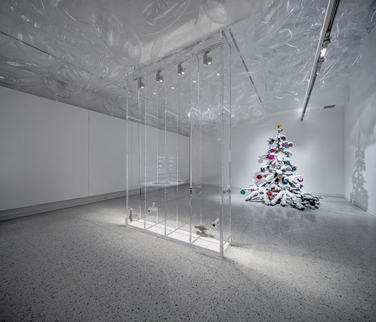 Exhibition view:Philippe Parreno, Winsing Arts Place, Taipei (7 November–28 February 2021). CourtesyWinsing Arts Place.
