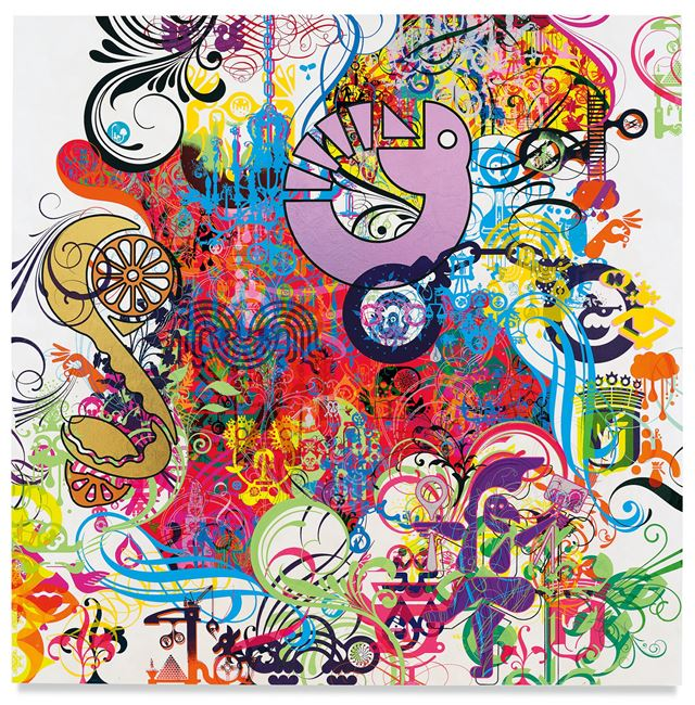 Mindscape 12 by Ryan McGinness contemporary artwork