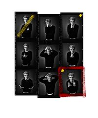 Peter Capaldi Contact Sheet by Andy Gotts contemporary artwork photography, print