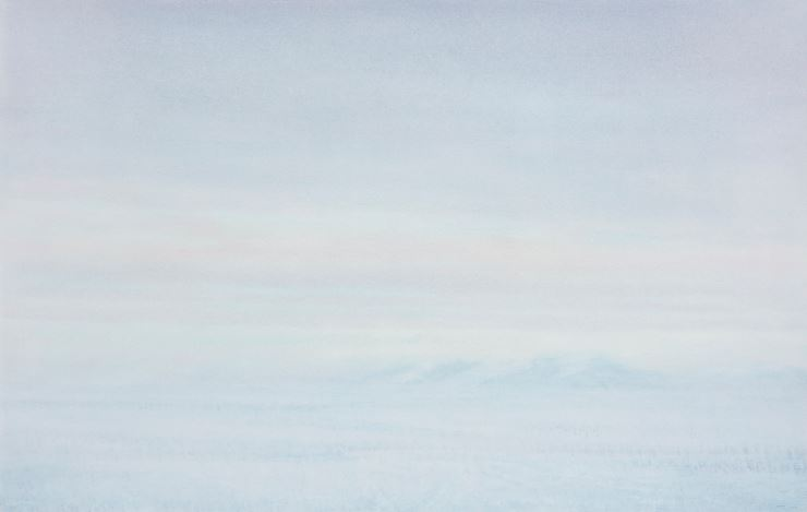 Qiu Shihua, Untitled(2009). Oil on canvas. 70 x 110 cm. Courtesy the Artist and Galerie Urs Meile, Beijing-Lucerne.