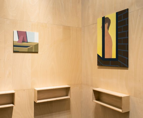 Exhibition view: Henni Alftan, Night-time,Sprüth Magers, Berlin (17 September–30 October 2021). CourtesySprüth Magers  and Karma, New York. Photo: Ingo Kniest.