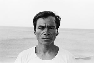 Portrait of an Imowrod tribesman by Tsun-shing Cheng contemporary artwork