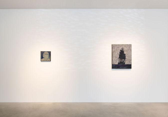 Exhibition view: Daniel Boyd,Treasure Island, Kukje Gallery, Seoul (17 June–1 August 2021). Courtesy Kukje Gallery.